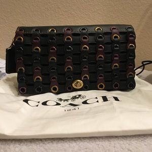 Coach 1941 Dinky Linked Glovetanned Leather NWOT
